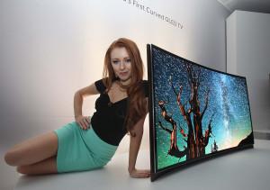Ce sunt televizoarele cu ecran curbat?
