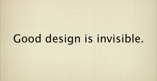 """Ce reprezinta webdesign-ul """"invizibil""""?"""